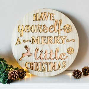 Have Yourself A Merry Christmas LED Plaque
