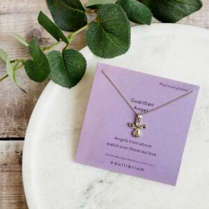 Equilibrium Sentiment Guardian Angel Necklace