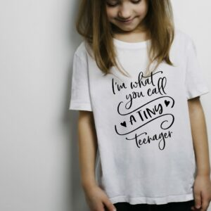 Tiny Teenager T Shirt