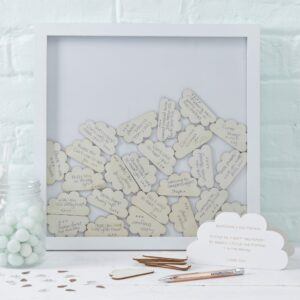Baby Shower Cloud Drop Box