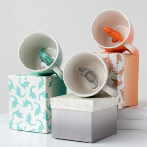 Dinosaur Ombré Cup with Gift Box