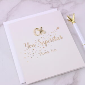 Super Star Greeting Card