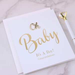 It's a Boy Congratulations Card