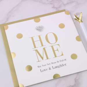 New Home Full of Love & Laughter Card