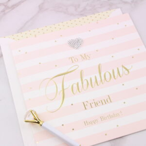 Large Fabulous Friend Birthday Card