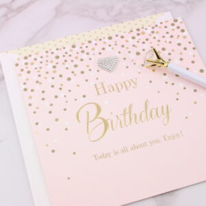 Large Happy Birthday Card