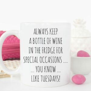Wine on Special Occasions Mug