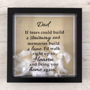 Heaven Feather Remembrance Frame