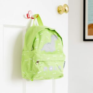 Green Brontosaurus Dinosaur Backpack