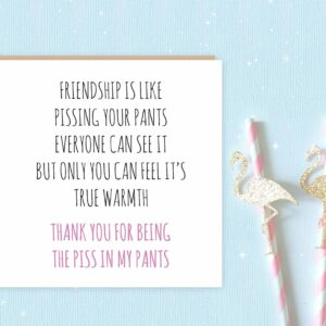 Pissy Pants Greeting Card