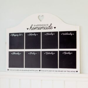 Heart Of The Home Weekly Chalkboard Planner