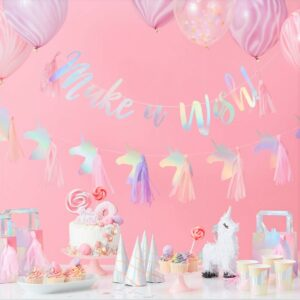 "Ginger Ray ""Make a Wish"" Unicorn Party Range"