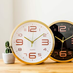Copper Embossed Clock Assortment