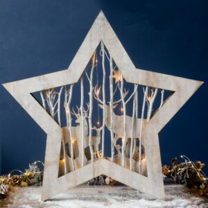 Extra Large LED Light Up Star
