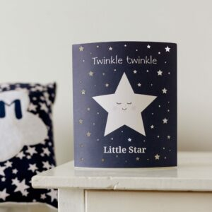 Twinkle Twinkle Little Star LED Lantern