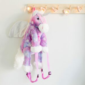 Unicorn Pink or Purple Soft Backpack