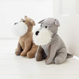 Schnauzer Dog Door Stop Assortment