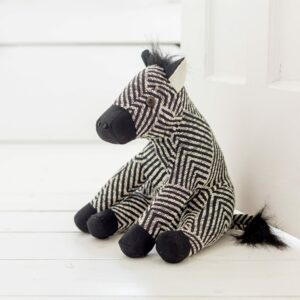 Aztec Patterned Zebra Door Stop