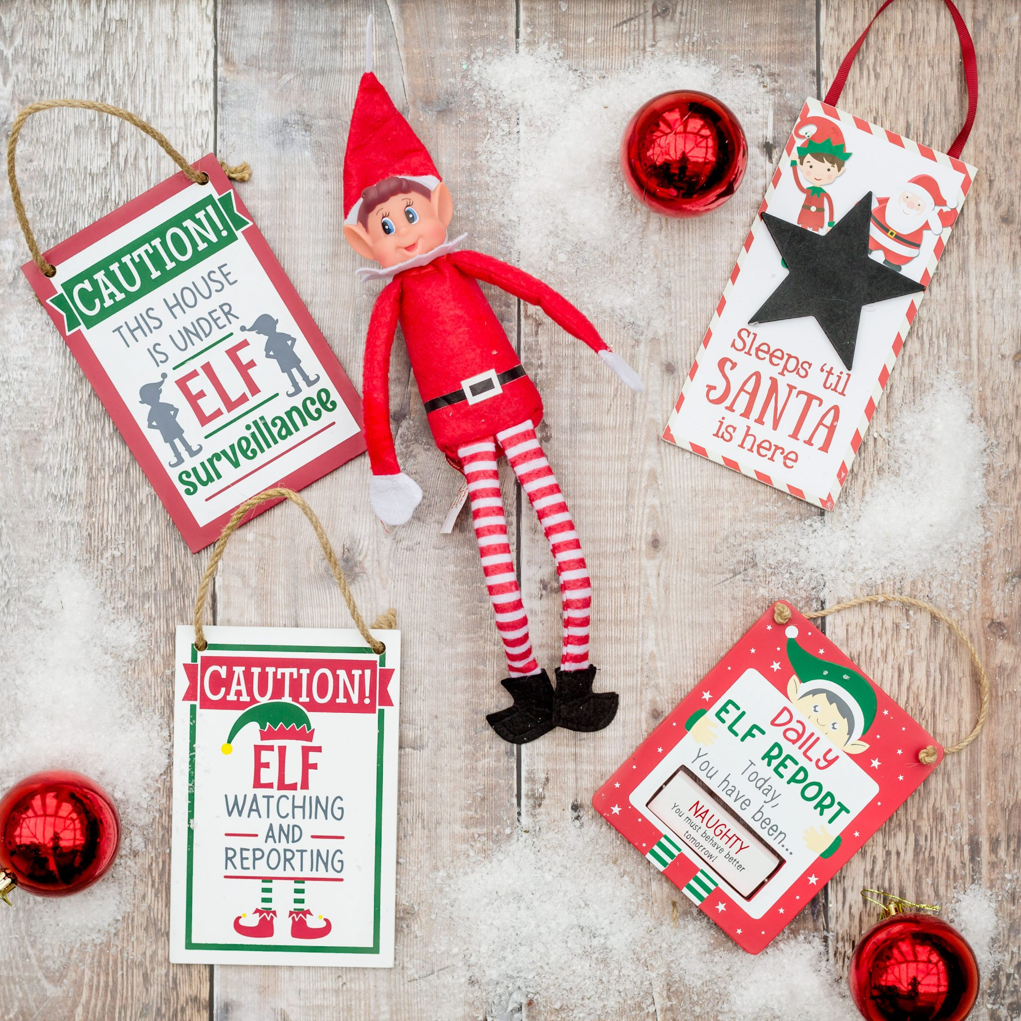 Christmas Naughty Elf Complete Pack