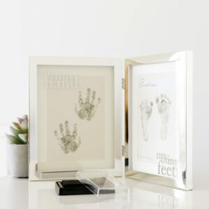 Bambino Tiny Hands & Feet Silver Plated Frame