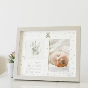 Baby Tiny Fingers Hand Print Frame With Ink Pad