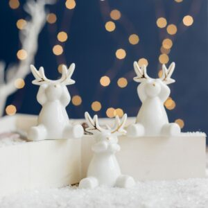 These fabulous reindeers will draw attention of others are they finish your decor perfectly. These are also perfect gifts for friends.