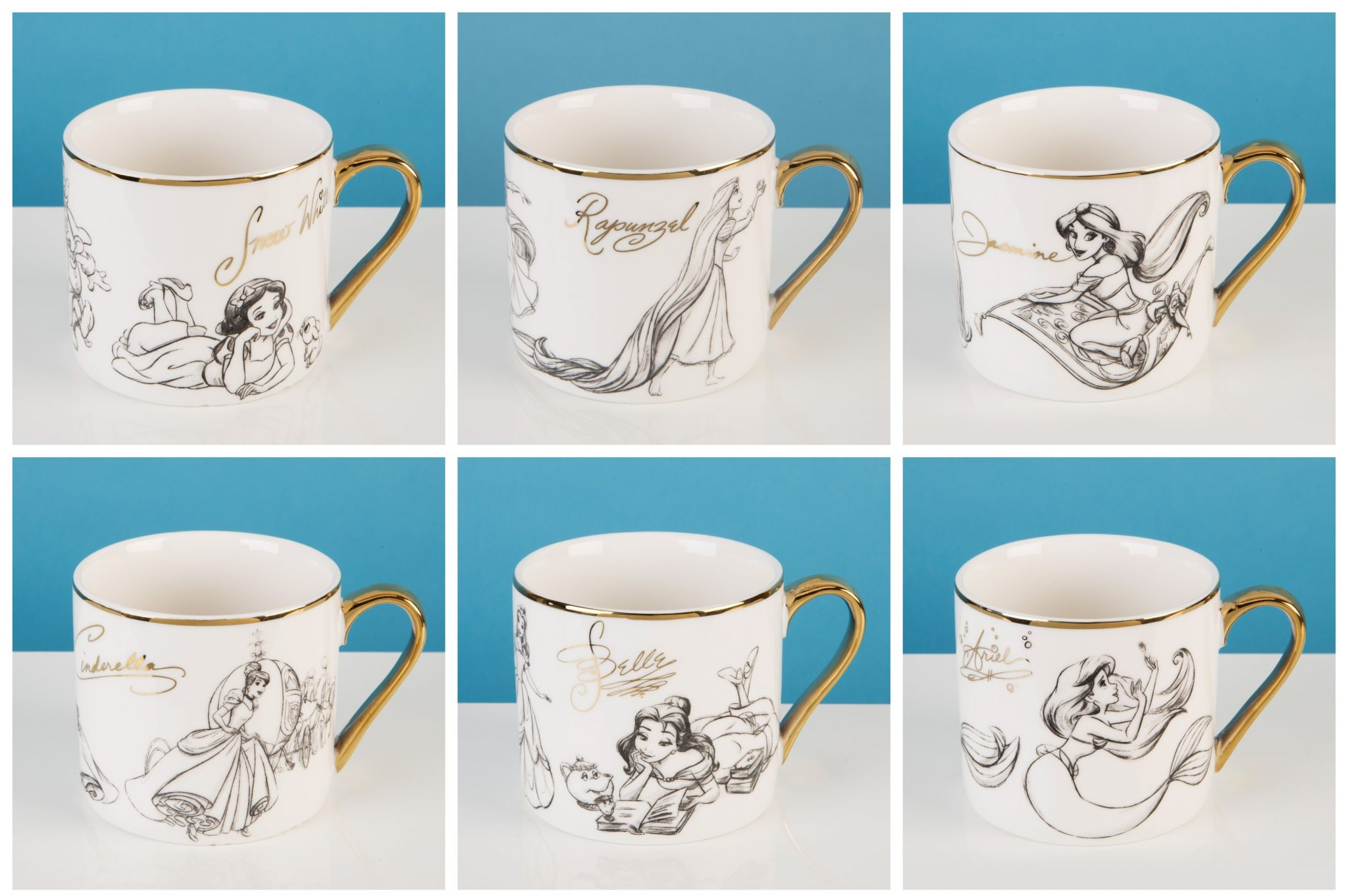 Disney Classic Princess Collectable Mug