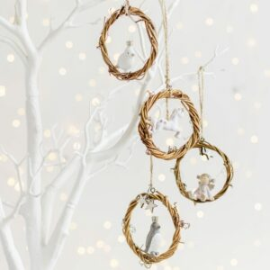 Christmas Twig Hanging Decoration Assortment