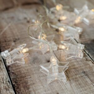 Battery Star Peg Photo Indoor LED Fairy Lights