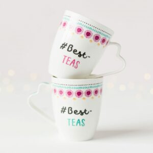 Ceramic Best-Teas Mug Set