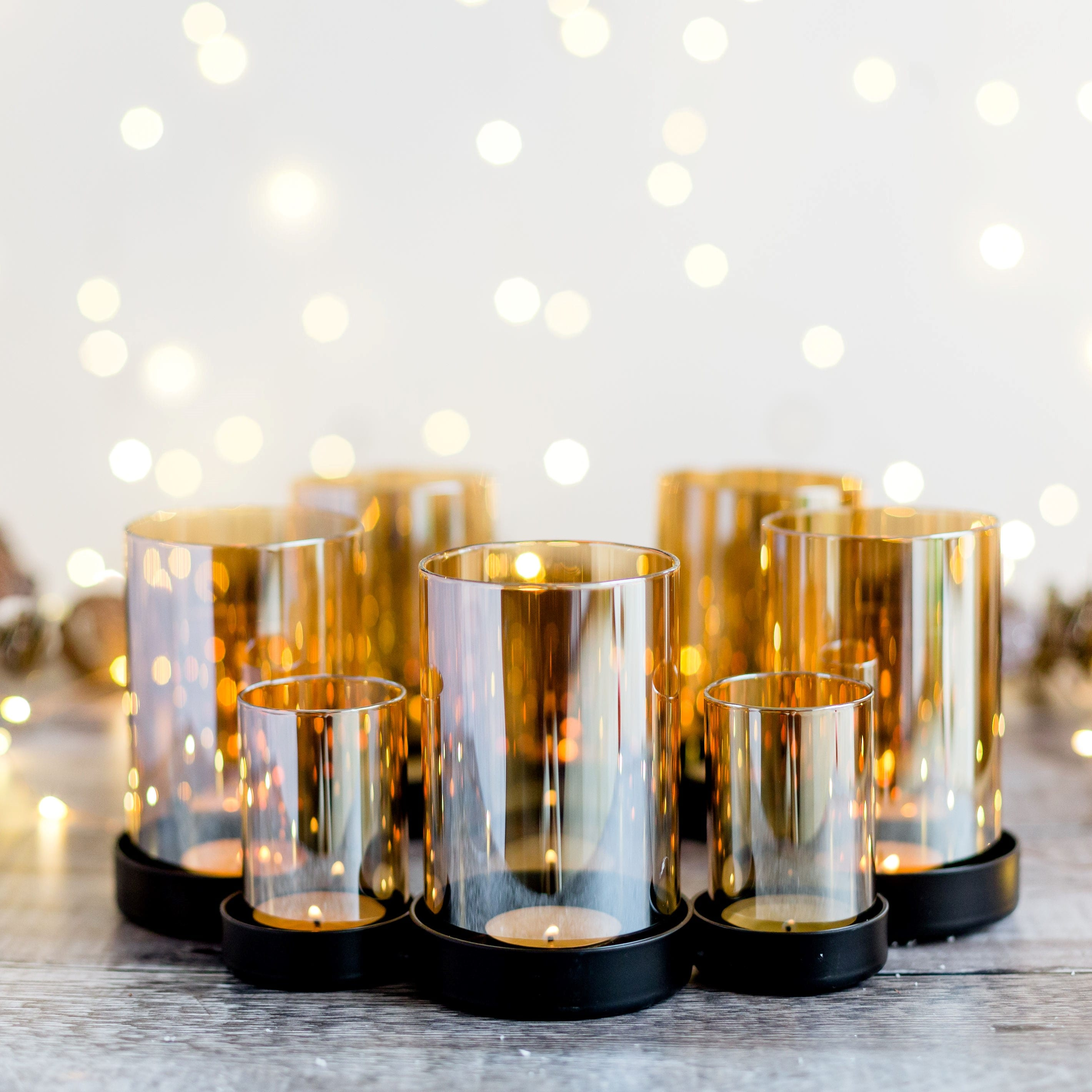 Lustre Tealight Holder Centerpiece