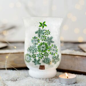 Christmas Tree Design Tea-Light Holder