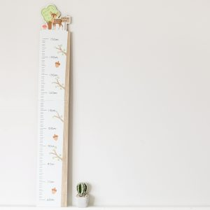 Forest Friends Wooden Height Chart