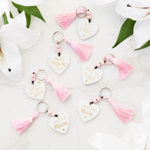 Mum Heart Key Ring Assortment