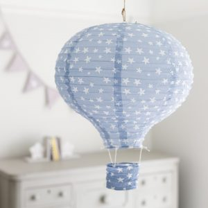 Blue Hot Air Balloon Lampshade
