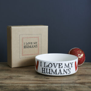 I Love My Humans Dog Bowl Assortment