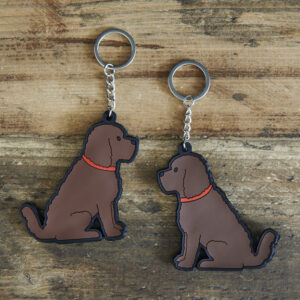 Cockapoo Key-Ring