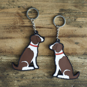Brown Springer Spaniel Key-Ring