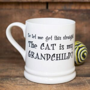 Cat Is My Grandchild Ceramic Mug