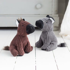 Grey Or Brown Horse Door Stop Assortment