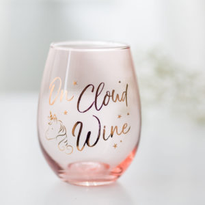 On Cloud Wine Unicorn Glass