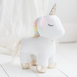 Una Unicorn Door Stop
