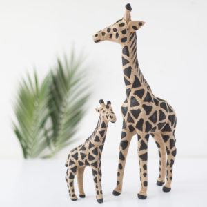 Natural & Black Jute Giraffe Assortment