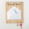 Letter Holder and Key Hook Plaque