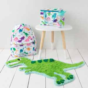 Dino Lunch Bag & Optional Water Bottle Or Back Pack