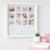 White My First Year Baby Frame