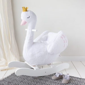 White Swan Rocking Chair