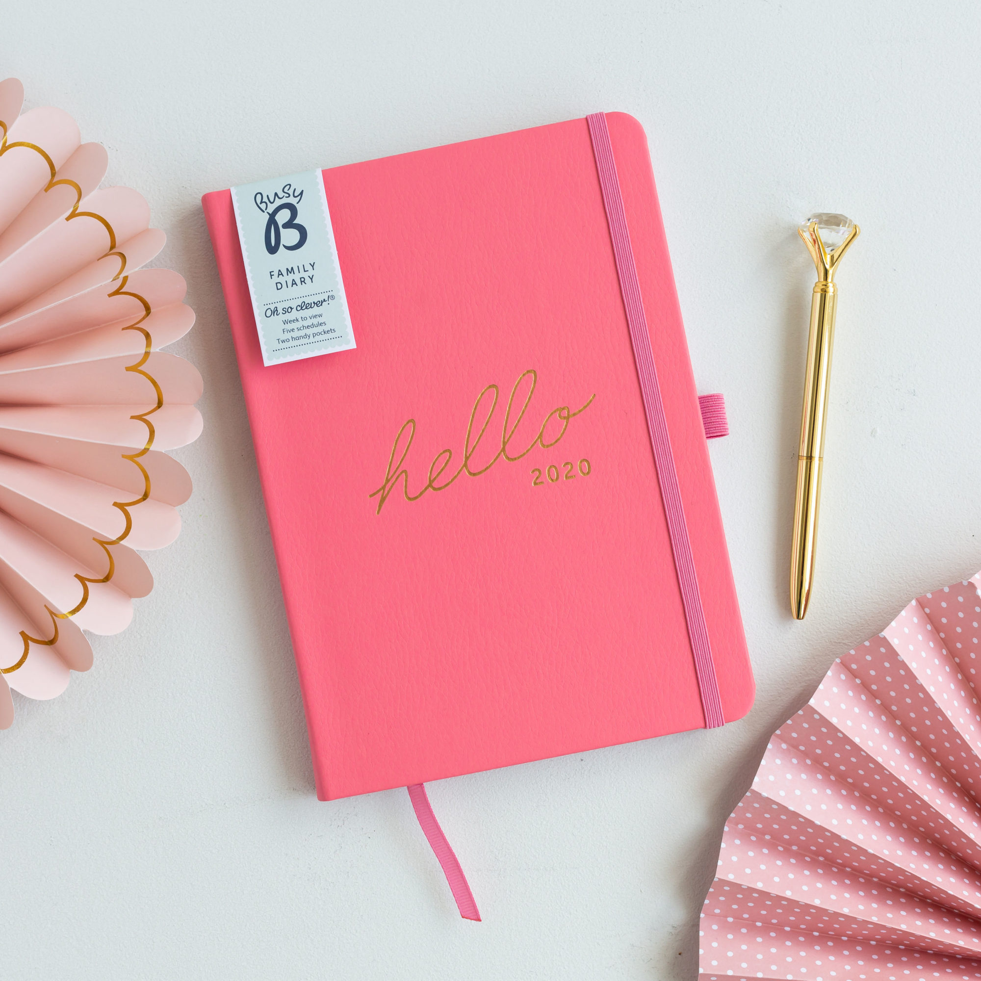 PRE-ORDER Busy B Family Planner 2020
