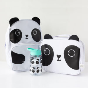 Panda Back Pack, Lunch Bag & Water Bottle