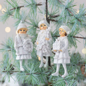 Set of Three Winter Children
